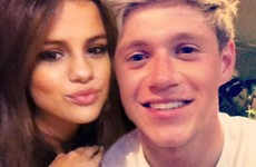 Niall Horan and Selena Gomez are smooching now... it's The Dredge