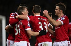 The Man United squad for tomorrow's massive game does not inspire much confidence