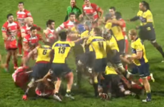 This epic French rugby punch-up rumbled 20 metres upfield (and back again)