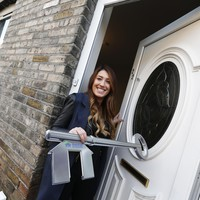 From rooming with two sisters to a brand new home with her partner for Christmas