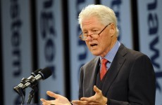 LIVE: Bill Clinton addresses the Global Irish Economic Forum