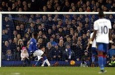 Lukaku continues phenomenal scoring run, but Everton left frustrated