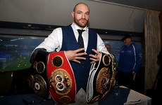 Tyson Fury: 'Conor McGregor copied me in everything he does'
