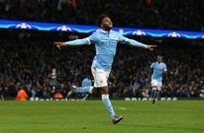 Birthday boy Sterling sends Man City top