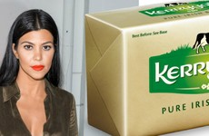 Kourtney Kardashian loves a bit of Kerrygold Irish butter apparently