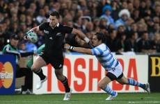 As it happened: New Zealand v Argentina