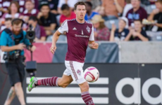 Former Ireland international earns new deal in Major League Soccer