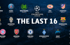 We now know the 16 clubs through to the Champions League knockout stages