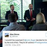 Last night's Apprentice was a disaster on an unprecedented scale