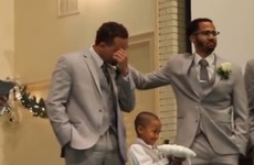 This groom in floods of tears at his wedding is the internet's new hero
