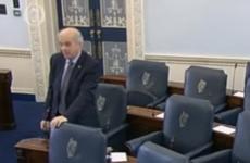 "Senator Jim Walsh tells Senator Ivana Bacik to ""get treatment for haemorrhoids"""