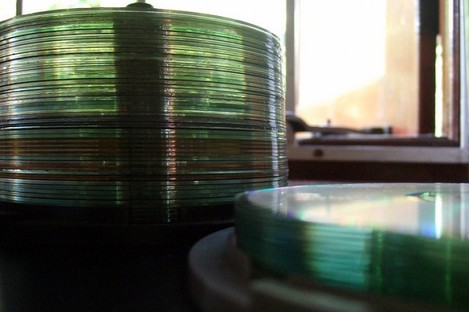 File photo of CDs