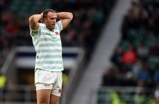 Harlequins won't be pleased with Jamie Roberts after he went off injured in Varsity Match