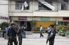 Explosions wound at least 11 people in the Philippines