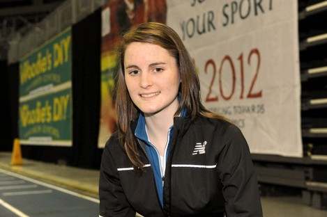 Ciara Mageean missed out on the London 2012 Olympics after suffering a foot injury.