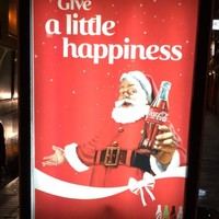 A loose light has given this Coke ad in Dublin a brand new (unfortunate) meaning