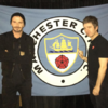 Only Noel Gallagher could persuade David Beckham to pose for a photo like this one