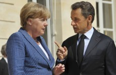 Merkel and Sarkozy meet to thrash out debt crisis measures