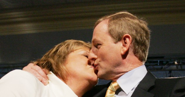 14 pictures that prove Enda Kenny loves to lob the gob