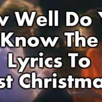 How Well Do You Know The Lyrics To Last Christmas?