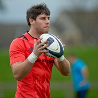Youghal man O'Callaghan showing international credentials for Munster
