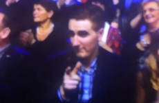 Did you spot this legend in the audience during last night's Late Late Show?