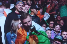 An Irish Conor McGregor fan serenaded Holly Holm and completely mortified her