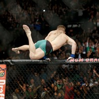 Here is the stunning KO that saw Conor McGregor crowned UFC champ in 13 sensational seconds
