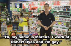 This hardware store's 'gay' Christmas ad has left everyone scratching their heads
