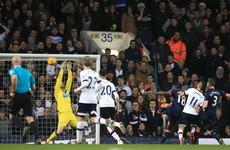 Ireland's Rob Elliot stars as Tottenham's record Premier League run comes to an end
