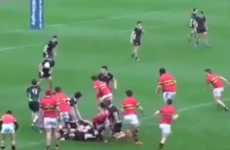 It's just like watching Fiji 7s! Bandon schoolboys show sensational skill to score this coast-to-coast try