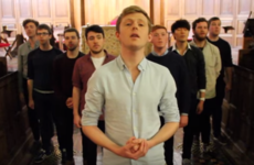 Watch: Trinity students' acapella cover of After the Storm