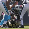 A cheap shot caused this shemozzle in the NFL yesterday