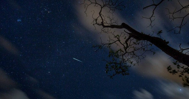 Hundreds of shooting stars will be visible over Ireland tonight