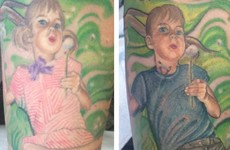 A trans teen's mum updated her tattoo of him in the nicest way