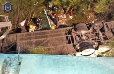 At least 41 people killed in Argentinian bus crash