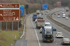 Man arrested after Irish farmer killed in crash on Welsh motorway