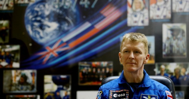 UK astronaut Tim Peake arrives at International Space Station