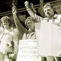 30 years ago Dunnes Stores was involved in ANOTHER workers' dispute... one that shook the world