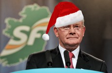 Martin McGuinness's favourite Christmas present is a little box - but what's in it?