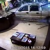 Man is unhappy with bill, drives truck through hotel lobby