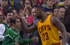 LeBron James is the MVP of our hearts for this incredibly sound gesture