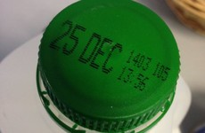 People are very excited about Christmas Day being the expiry date on the milk