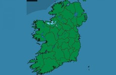 It's barely raining at all right now - and water levels in the Shannon are finally dropping