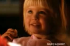 The little girl in the Cornflakes ad now has a little girl of her own