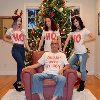 This family's ho-themed Christmas card is so wrong, it's right