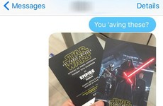 A Star Wars fan brilliantly got back at his mate who spoiled his favourite TV shows