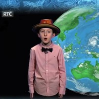 Johnny the Toy Show weather fan has got to do an actual RTÉ forecast