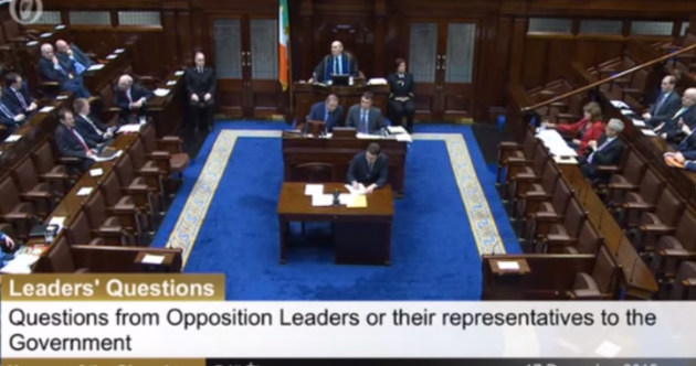 WATCH: Huge Dáil shouting match on TDs' last day before Christmas