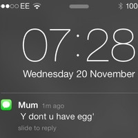 11 of the greatest mam texts ever sent